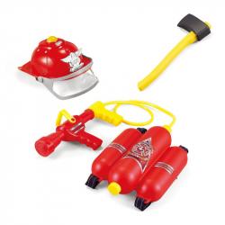 Zestaw strażaka z akcesoriami