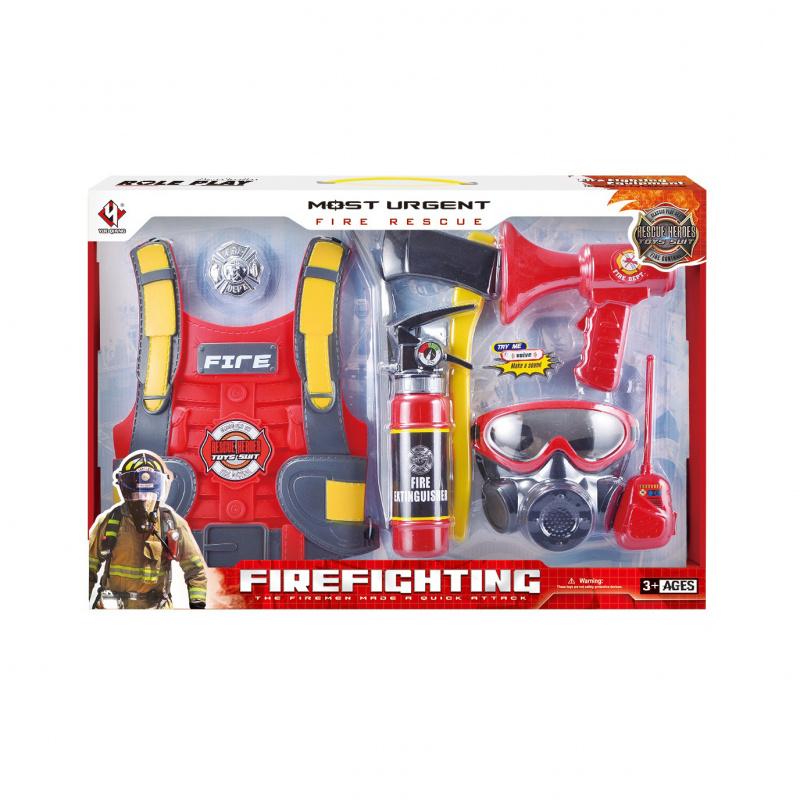 Sada hasič s příslušenstvím
