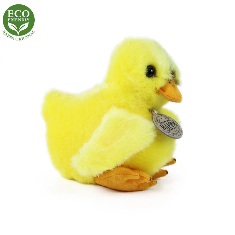 Pluszowy kurczak stojący 14 cm EKOLOGICZNY