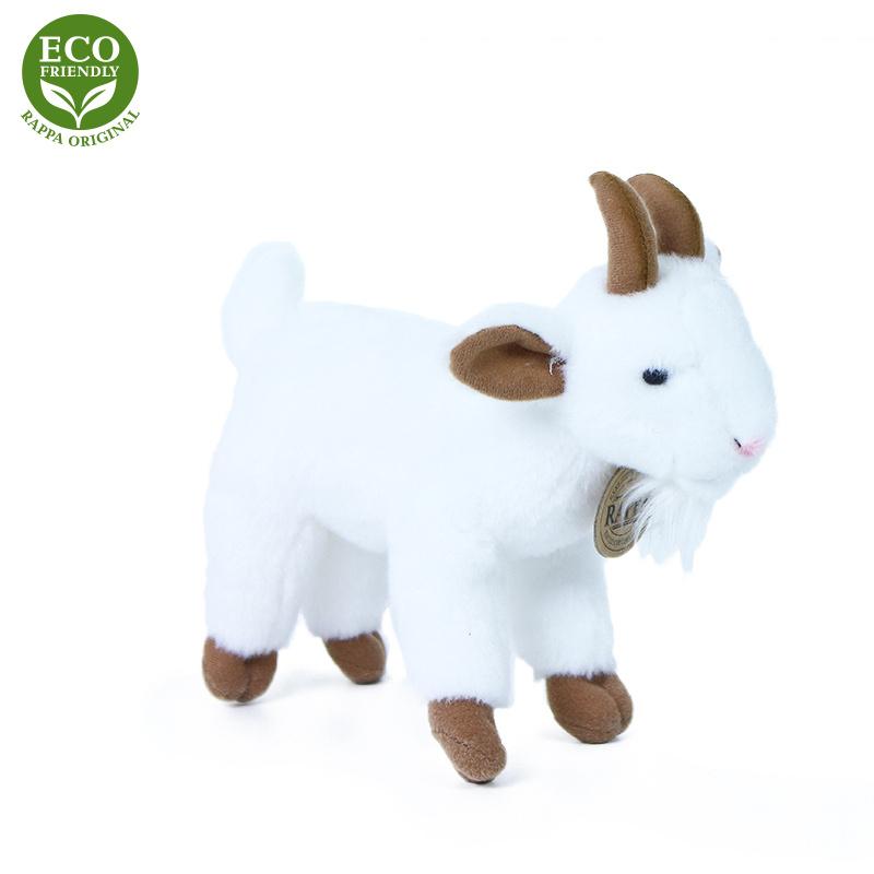 Pluszowa koza stojąca 18 cm EKOLOGICZNA