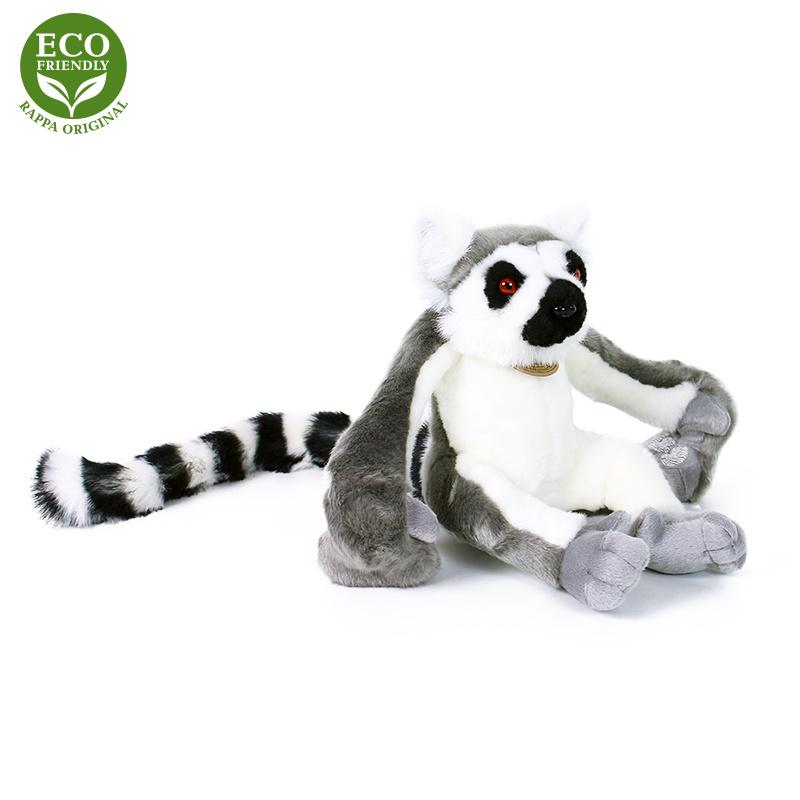 Wiszący pluszowy lemur 25 cm EKOLOGICZNY