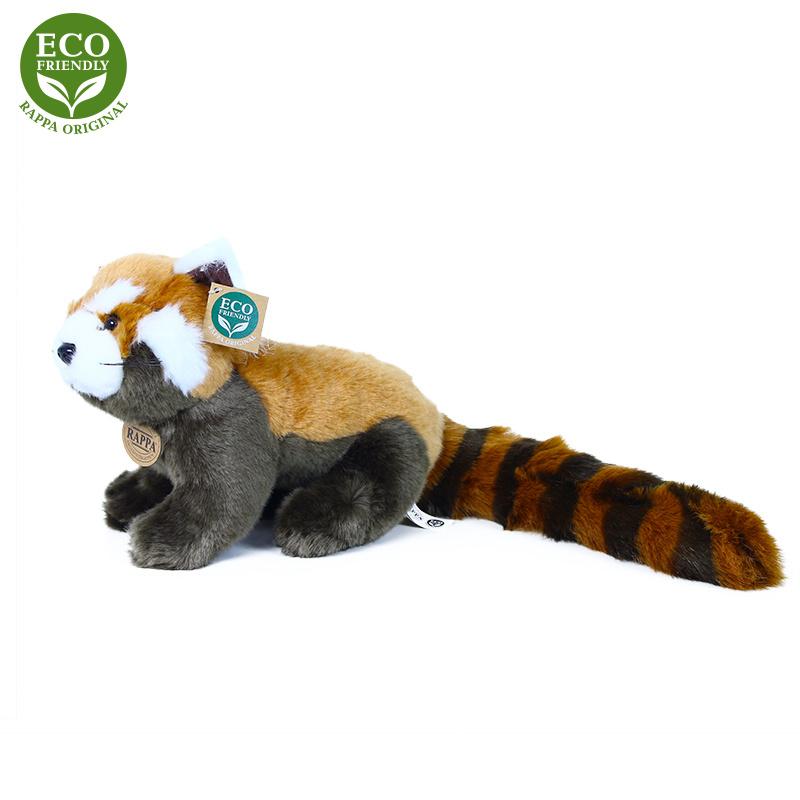 Pluszowa panda czerwona 25 cm EKOLOGICZNA