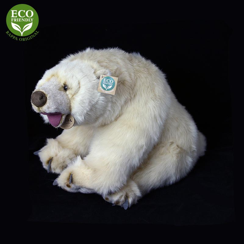 Siedzący miś polarny 43 cm EKOLOGICZNY