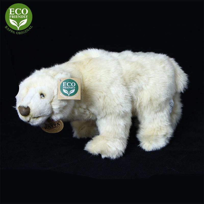 Miś polarny stojący 33 cm EKOLOGICZNY