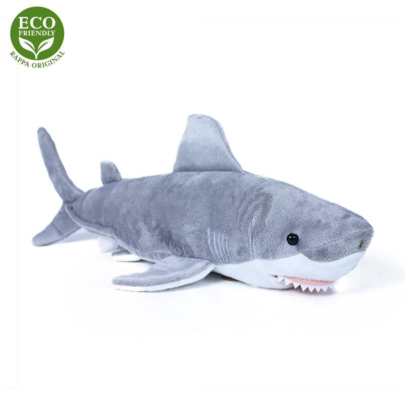 Plyšový žralok 36 cm ECO-FRIENDLY