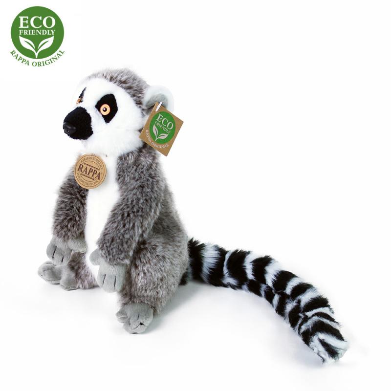 Pluszowy lemur 22 cm EKOLOGICZNY