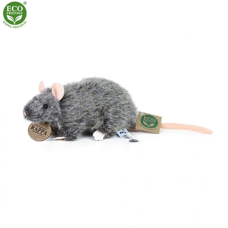 Plyšová krysa 17 cm ECO-FRIENDLY
