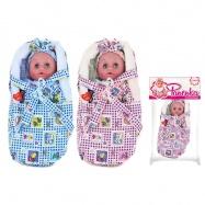 Panenka - miminko v tašce se zvukem 28 cm