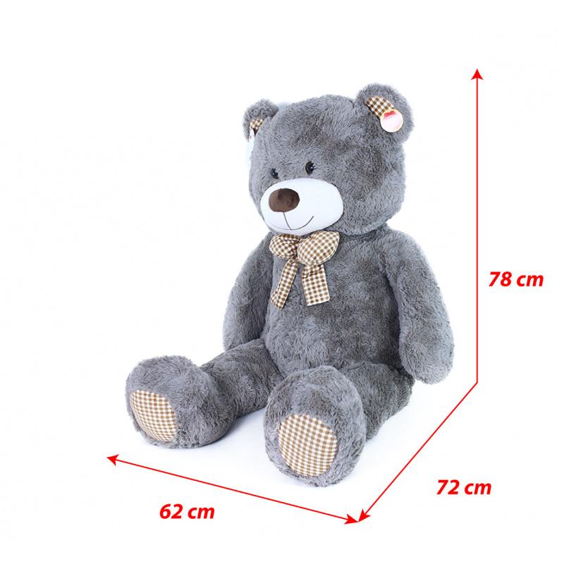 Veľký plyšový medveď Fanda s visačkou 130 cm