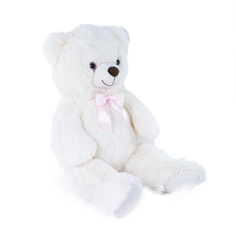 Veľký plyšový medveď Lily 78 cm krémovo biely s visačkou