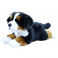 plyšový pes salašnický ležící, 30 cm