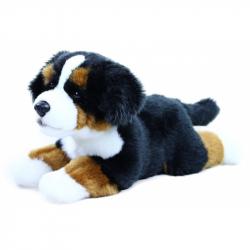 Rappa, Pluszowy Berneński pies pasterski, leżący, 30 cm