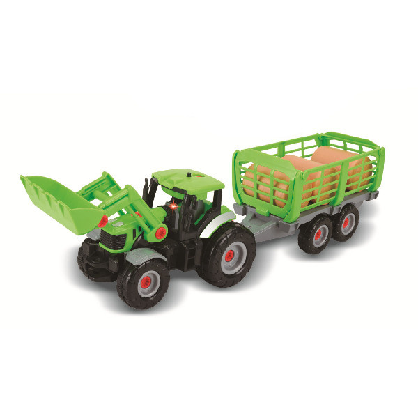 Traktor skrutkovacie 2v1 so zvukom a svetlom