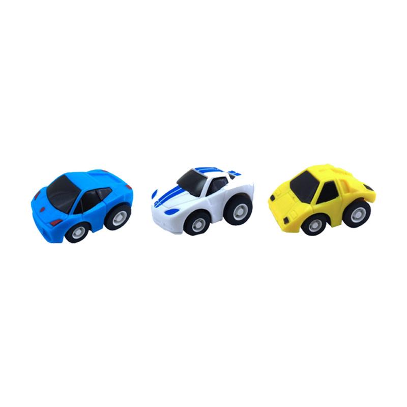 Živá omalovánka závodné autá 3 ks
