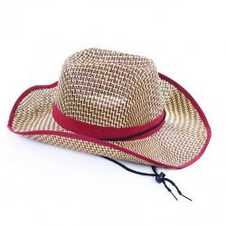 klobouk kovbojský letní pro dospělé