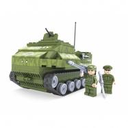 stavebnice AUSINI armáda tank 199 dílů