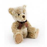 plyšový medvěd retro sedící 25 cm