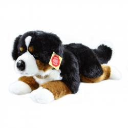 Plyšový pes salašnický ležící, 40 cm