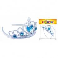 korunka zimní království princezna s kamínky