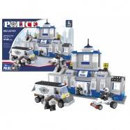 Stavebnice AUSINI policejní stanice, 449 dílů