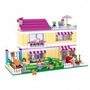 stavebnice AUSINI dívčí módní svět párty dům 771 dílů