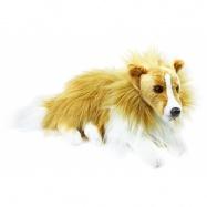 Plyšový pes kolie 38 cm