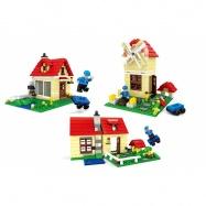 stavebnice AUSINI 3v1 domy 316 dílů