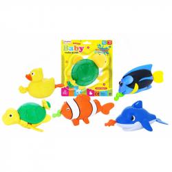 zvieratá do vody na natiahnutie, 5 druhov