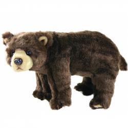 Rappa Pluszowy niedźwiadek stojący, 40 cm