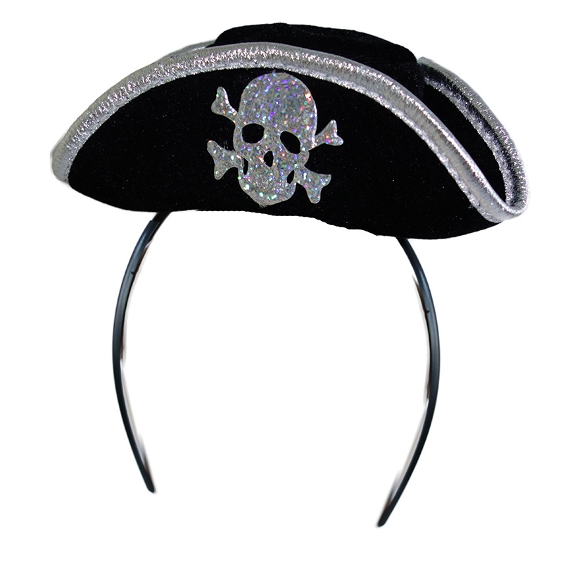 čelenka s mini pirátskou čepicí, dospělý
