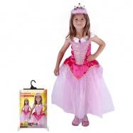 karnevalový kostým princezna růžová vel. S