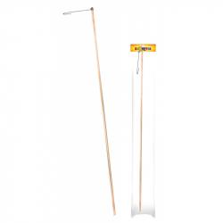 palička drevená na lampión, 60 cm