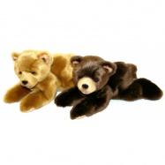plyšový medveď 15cm ležiace, 2 druhy