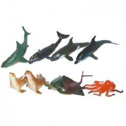 Zvířata mořská, 9 ks v sáčku