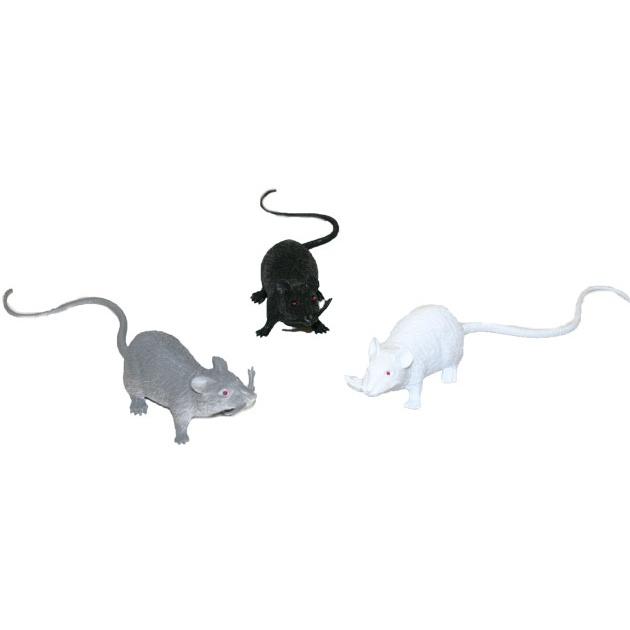 myš, 3 druhy, 18 cm