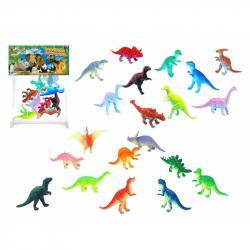 Dinosauři 10 ks v sáčku, 2 druhy