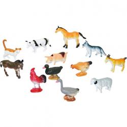 Zvieratá domáce, 12 ks v sáčku