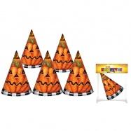 klobouk párty - Halloween, 6 ks v sáčku