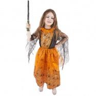 Karnevalový kostým oranžový halloween vel. S