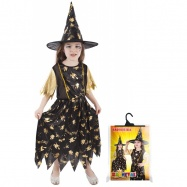 Karnevalový kostým čarodejnice / halloween, vel. S