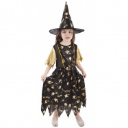 Karnevalový kostým čarodejnice / halloween magická, veľ. M