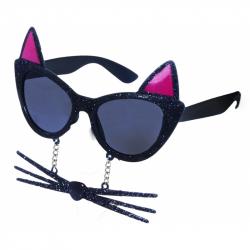brýle karnevalové kočka s vousy
