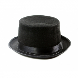 klobúk cylinder dospelý
