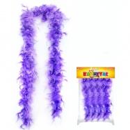 Boa peří 1,5 m, fialové