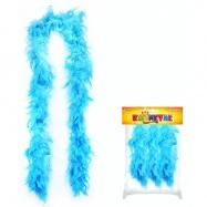 Boa peří 1,5 m, modré