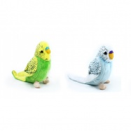 Rappa, Pluszowa papuga falista, 12 cm, 2 rodzaje