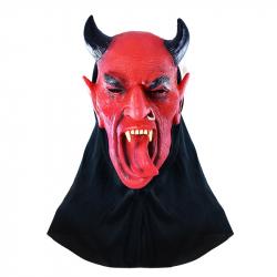 maska čert s jazykom