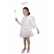 sukně tutu anděl s křídly a příslušenstvím