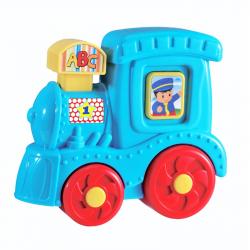lokomotiva se zvukem baby