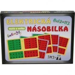Hra Elektrická násobilka